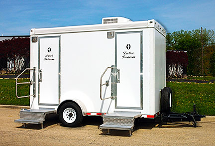 What Are Restroom Trailers Mobile Toilet Trailers