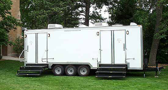 Almost Like Home Restroom Trailers Mobile Restrooms at Corporate Events